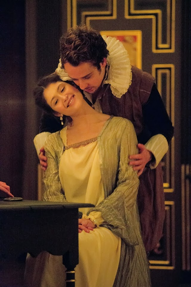 Alex Waldmann and Gemma Artherton  in Duchess